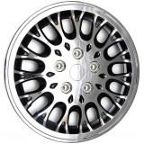 Колпаки колес универсальные Черный металлик / Хром [80-165C/G] - 15